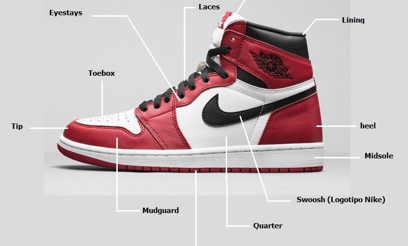 sneaker anatomy